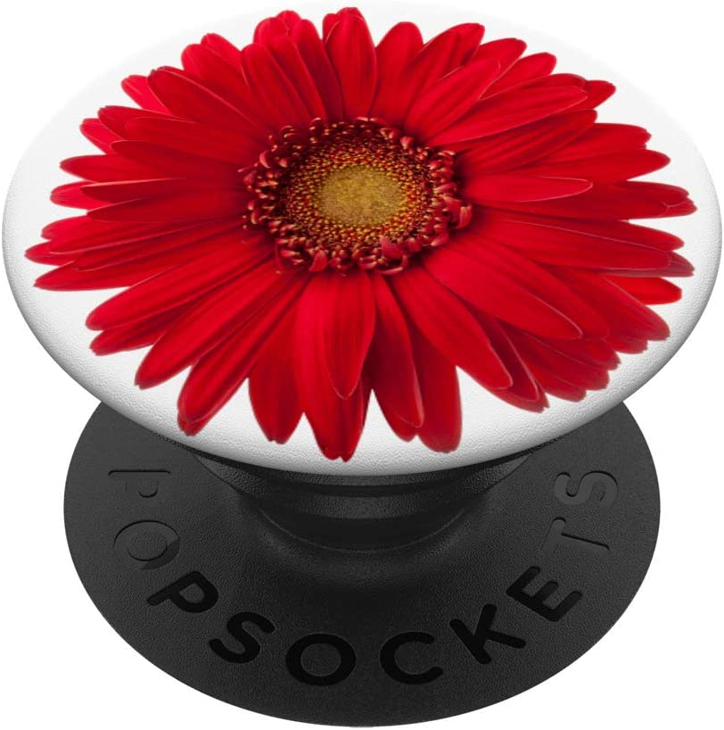 Cute Red Daisy Milwaukee Mall Flower On PopSockets P Pretty So Baltimore Mall White