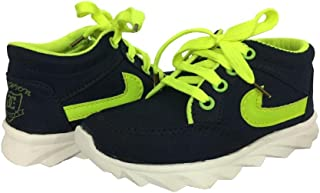 Kiinkaa Sports Lace-up Shoe for Boys & Girls (Size: 7c-3 for Age Group 2-7 Years)