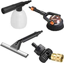 WORX WA4072 Hydroshot Deluxe Cleaning Accessory Kit, Black