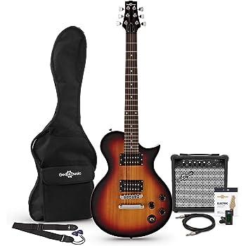 Set de Guitarra Electrica New Jersey Classic + Ampli de 15 W ...