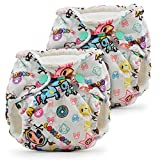 Lil Joey Newborn All in One Cloth Diaper (2 Pack) - tokiBambino
