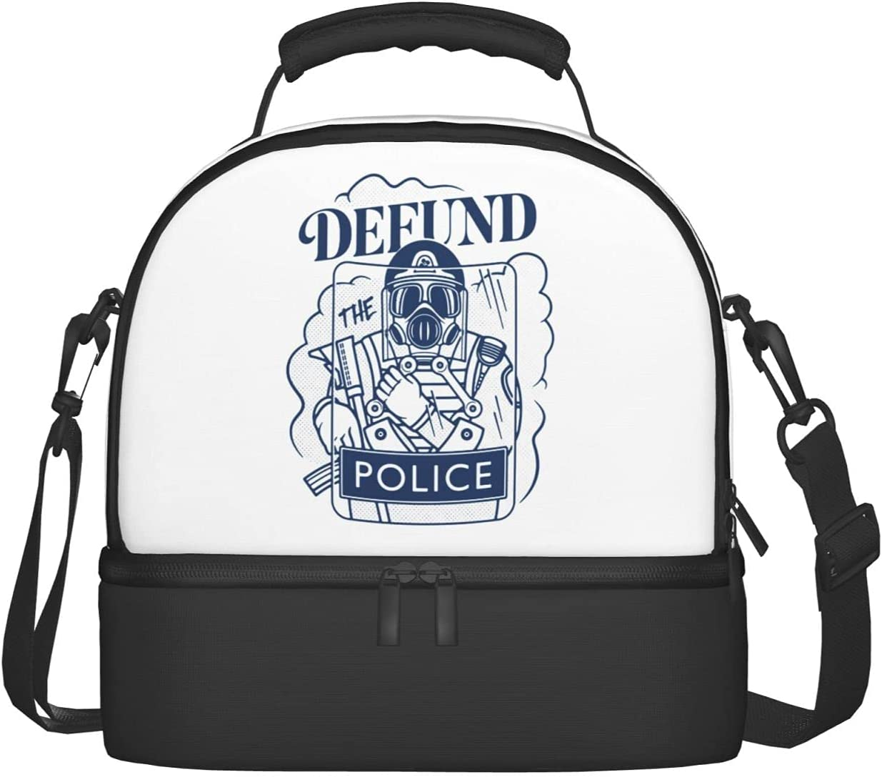 Max 59% OFF Defund The Police End Brutality Ranking TOP9 Two Compartmen Bags Lunch