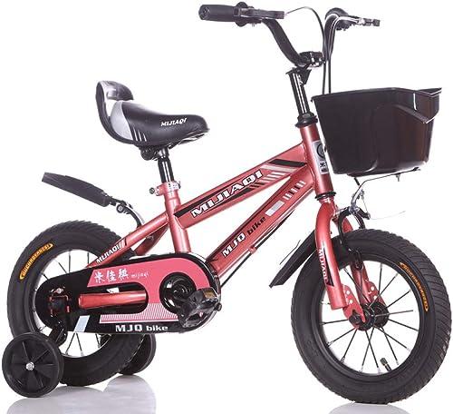 Defect Kinderfürrad 14-16-18 Zoll m licher und Weißicher Kinderwagen 6 Jahre altes Mountainbike-Kind Vier Radfürrad
