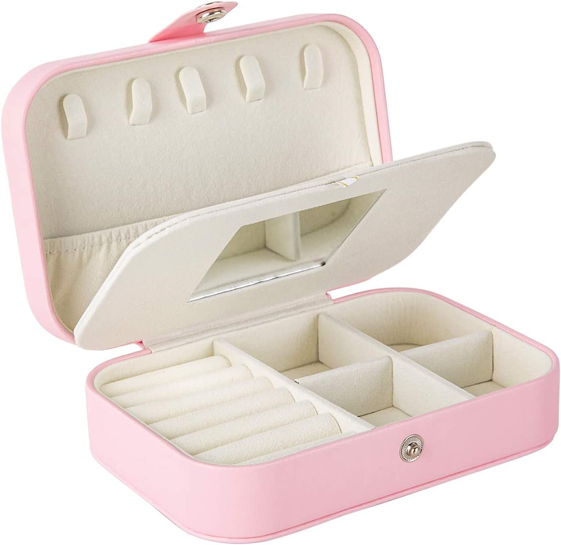 WINCANG New product type Small Jewelry High material Box Organizer Doubel Travel Layer