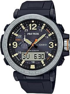 Casio PRG-600-1DR Quartz Watch for Men Analog-Digital Silicone Band