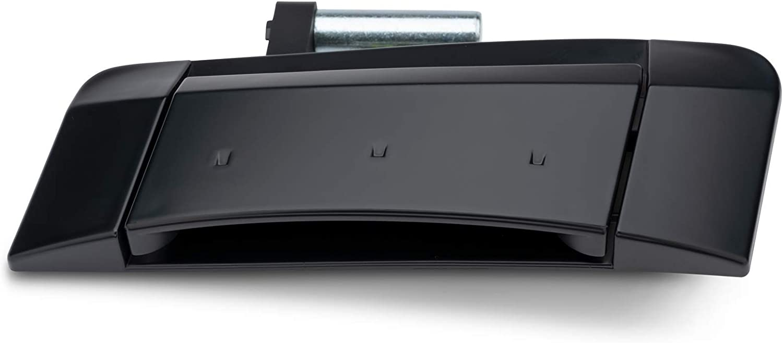 WEILEITE Car Black Exterior Door Handle Compatible With Nissan 350Z 2003-2009 Replaces 80606-CD01E 80606-CD00E 80607-CD40E 80607-CD41D Pair
