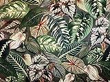 Textil London Florales italienisches Samt Tropische
