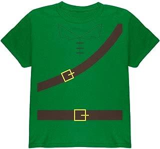 Old Glory Halloween Robin Hood Costume Irish Green Youth T-Shirt