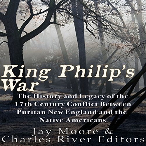 King Philip's War audiobook cover art