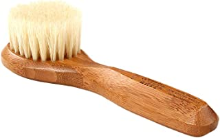 Facial Cleansing Brush - Natural Bristle Wood Handle