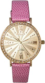 Omax Analog Watch For Women Round shape - GT006R88I