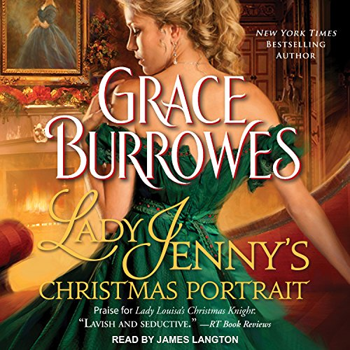 Lady Jenny's Christmas Portrait audiobook cover art