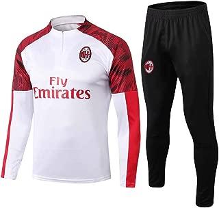 Men's Soccer Jersey Suits, Rossoneri Long Sleeve Tracksuits, Associazione Calcio Milan Sweatshirt, Adult Soccer Sportswear Training Shirts
