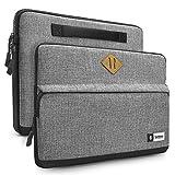 tomtoc Laptop Tasche für 13-Zoll MacBook Air 2018-2021 M1/A2337 A2179 A1932, 13-Zoll MacBook Pro 2016-2021 M1/A2338 A2251 A2289 A2159, 12,9-Zoll iPad Pro 2018-2021, 12,3-Zoll Surface Pro X/8/7+/7/6/5