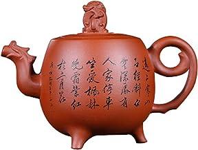JIAZHOUMA Autentyczny Yixing oryginalny moń fioletowy glina dzbanek do herbaty czysty ręcznie robiony czajnik Zisha czajni...
