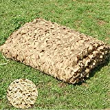 YFF-Lonas Woodland Camo Netting Beige Camping Military Hunting Camouflage Net Bulk Roll Mesh Cover Blind for Decoration Sun Shade Party Outdoor