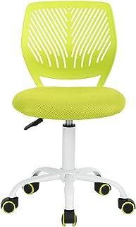 FunitureR 儿童学习椅无扶手旋转桌椅塑料彩色轮子