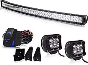 Spead-Vmall Led Light Bar Curved 50