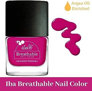 Iba Halal Care Breathable Nail Color, B17 Royal Magenta, 9ml