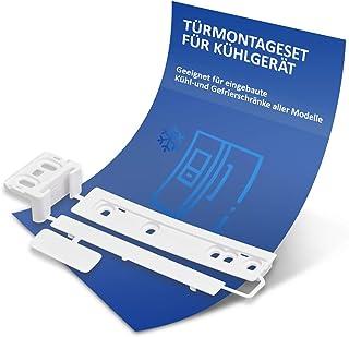 Dörrmonteringssats ersättning för AEG 223034904/1 gångjärn gångjärn gångjärn skena glidskena dragskena monteringssats för ...