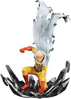 Huangyingui One Punch Man Saitama Action Figure Scale Painted Figure Saitama PVC Figure 9.8-Inch