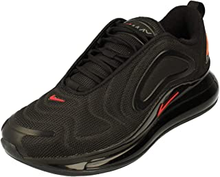 Nike Air Max 720 Mens Running Trainers CT2204 Sneakers Shoes (uk 5.5 us 6 eu 38.5, black hyper crimson 002)