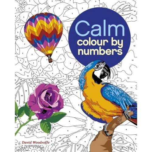 Colouring By Numbers Amazon Co Uk