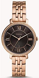 Fossil Womens Quartz Watch, Analog Display and Stainless Steel Strap ES4723