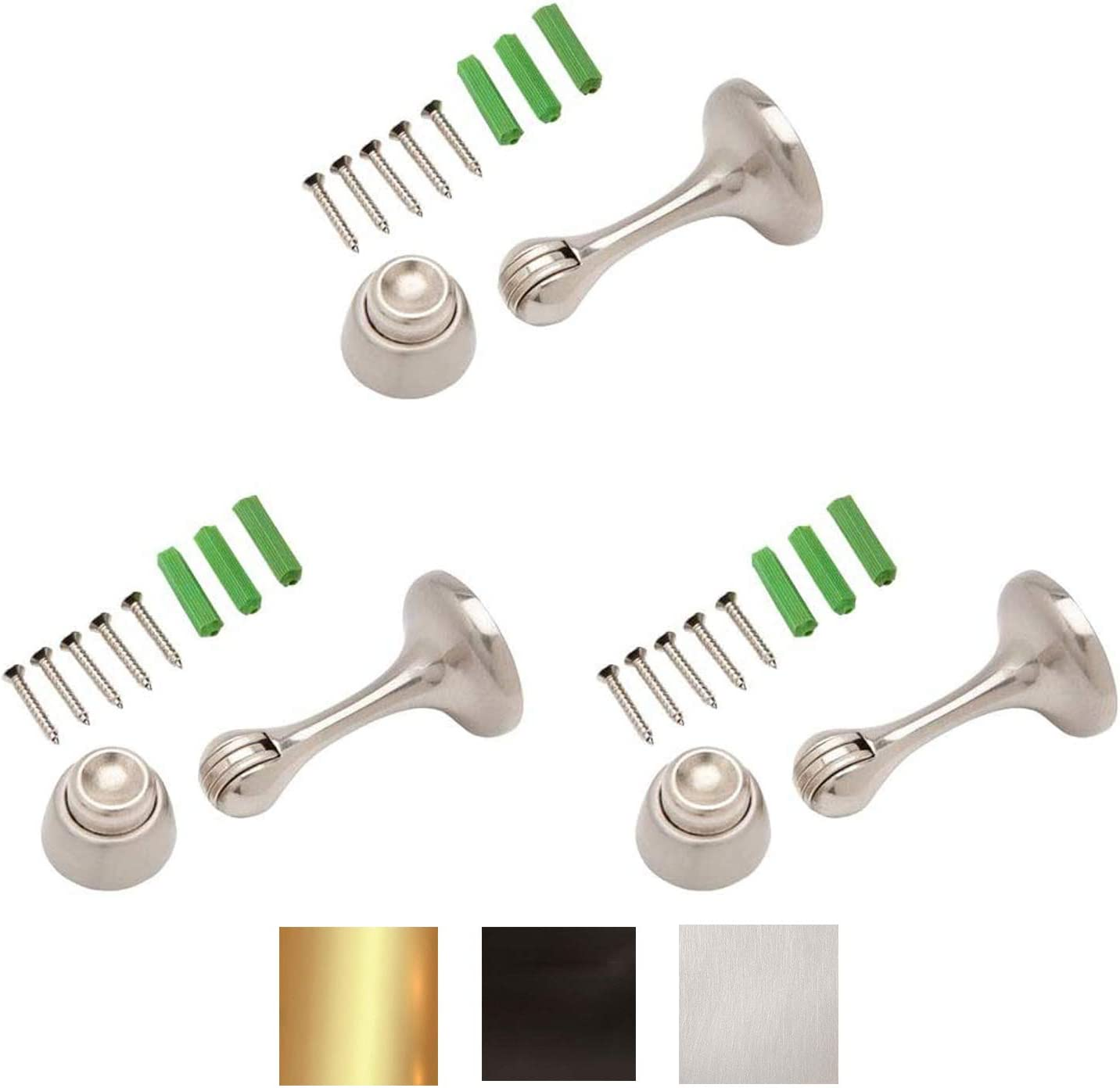 Magnetic Door Quality inspection Stop 3in. Discount is also underway Catch Holds and Protects Premium-Grade