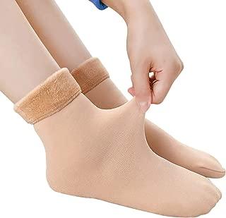 GRAPPLE DEALS Women Thermal Winter Wear Thick Inner Velvet Socks. (Pack of 2)
