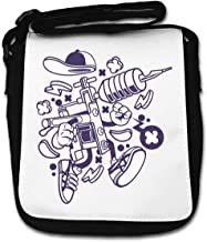 Cartoon Style Tattoo Machine Get Inked Ink Small Shoulder Bag