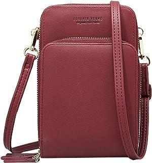 Aeeque Crossbody Bag for Women, Cell Phone Shoulder Bags Ladies Purse Handbag