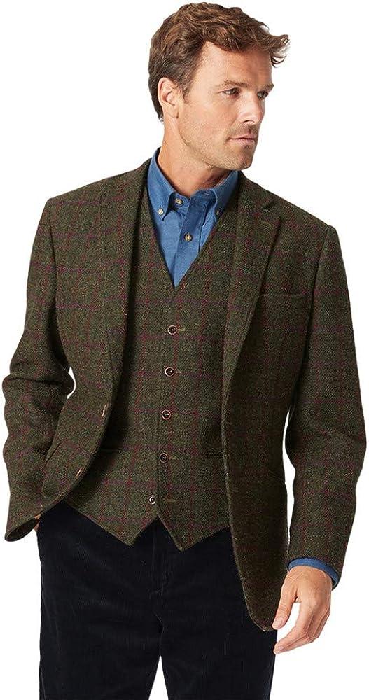 Men's Torrance Harris Tweed Classic Fit Jacket by Brook Taverner