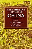The Cambridge History of China 2 Volume Hardback Set: Volume 8, The Ming Dynasty, Part 2, 1368–1644