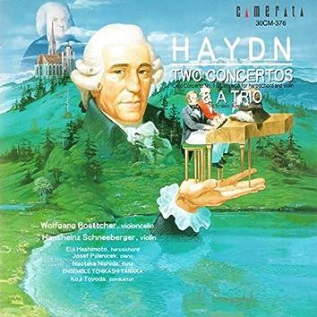 Haydn: Two Concertos & a Trio