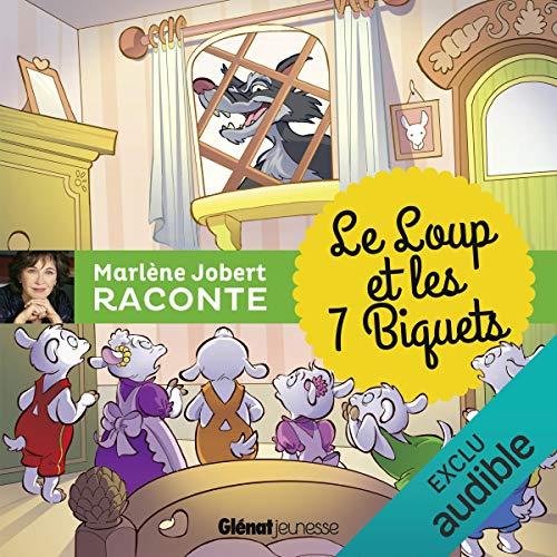 Le loup et les sept biquets audiobook cover art