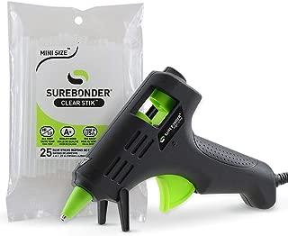 Hot Glue Gun, Surebonder Mini Size 10W High Temperature Glue Gun Kit with 25 Glue Sticks