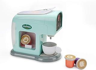 infunbebe Jeeves Jr. Kids Cafetera de Juguete electrónica de Pretend máquina de café Jugar con Taza y cápsulas de café Mi ...