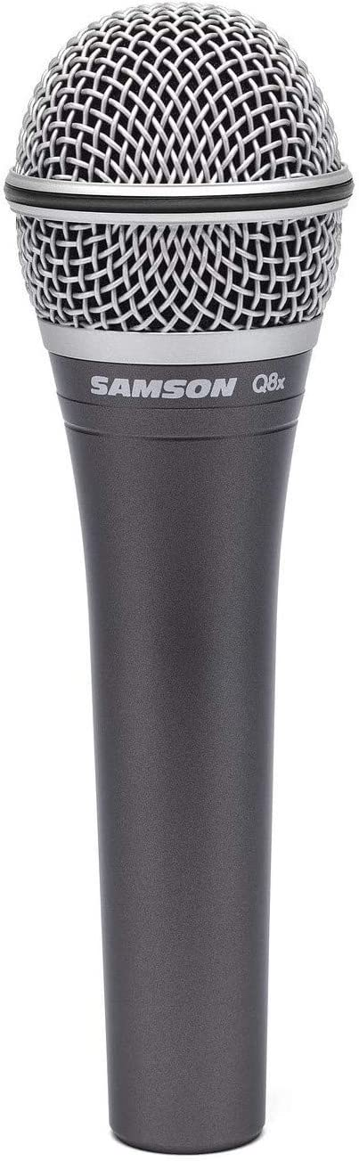 Samson Q8x Max 84% OFF Professional discount Dynamic Microphone Vocal
