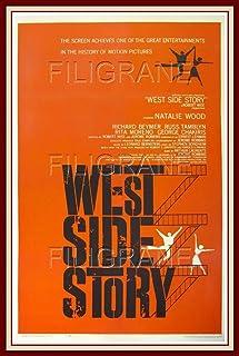 PostersAndCo TM West Side Story Film Roak Poster/Kunstdruk 40 x 60 cm * 1 Poster Vintage/Retro (BR*)