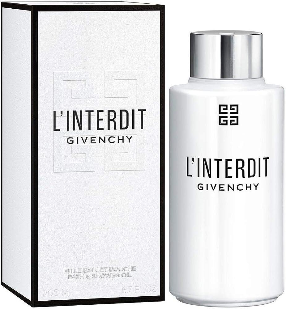 Givenchy,gel doccia alle note di l'interdit,per donna 3274872374843