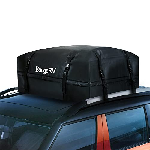 eb06c21407 BougeRV Car Roof Boxes Waterproof Cargo Bag 425 LITRES 1000D SUPER STRONG  Car Roof Rack Bags