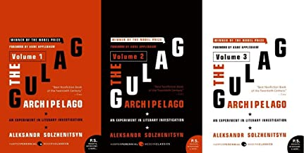 The Gulag Archipelago. Three volume set. 3 volumes.