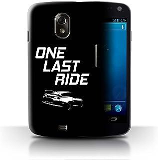 Stuff4®® - Funda para móvil de la colección Racing de Coches de Carreras One Last Ride Samsung Galaxy Nexus 3/I9250