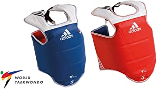 adidas WTF Taekwondo Solid Reversible Chest Protector