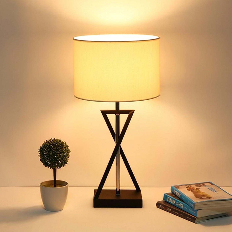 &Leselicht Fabric Shade Tischlampe, Home Decoration Dest Light E27 Study Room Tischleuchte mit Led Birnen ( Farbe   Weißes Licht-302057CM ) B078Y392T7     | Creative