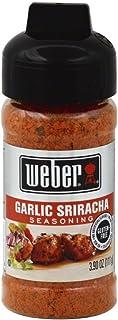 Weber Garlic Sriracha, 3.9 oz (Pack of 6)