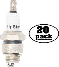 UpStart Components 20-Pack Replacement Spark Plug for KUBOTA Generator AV4500 AV5500B AV6500B - Compatible with Champion L82YC & NGK BP6HS Spark Plugs