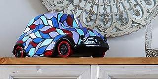 Fiat 500 Goccia scultura moderna realizzata interamente a mano complementi macchina d'arredo decorazione d'interni esposiz...