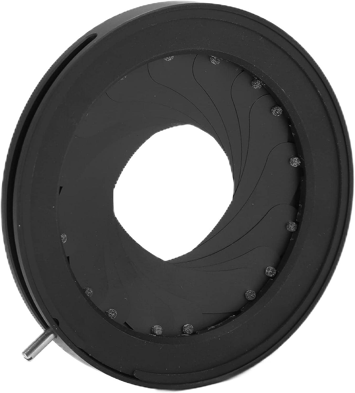 SK44 Max 53% OFF 2‑44mm Iris Diaphragm Aper Adapter Aluminum Alloy Brand Cheap Sale Venue